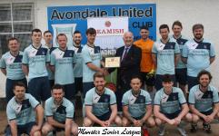 April- Avondale Utd Junior Premier team - of the Month for April