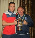 Aidan O'Callaghan, MSL and St Mary's with MSL Coach Charlie O'Sullivan