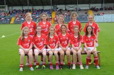 Girls Football v Clare 2015