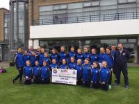 Girls U14 Feile Team leaving WMT