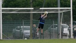 Heather Smith in action for Dublin Minors