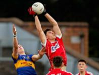 Cathal Foley Playing with the Cork Minor Team