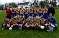 Kilmichael U16 County Champions