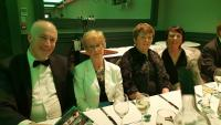 Kilmichael delegates at the Muskerry GAA Awards