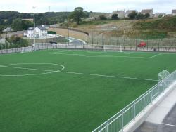 Construction of all weather pitch