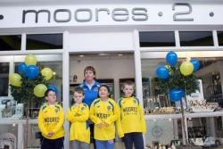 Moore's Jewellers sponsor Football For All