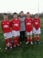 CUAFC Under 13's representing Cork 2011/12