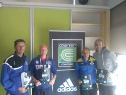 Coerver Youth Diploma Recipients