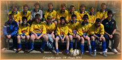 Carrigaline U14 A team 2011-12