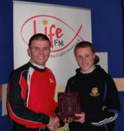 Life FM Man Of The Match Award For U14 Goalkeeper Andrew Kingston