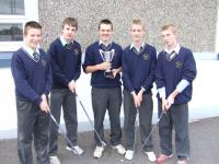 Golf - Munster golf champions 2007