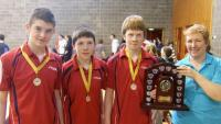 Table Tennis - West Cork U-19 table tennis champions 2010