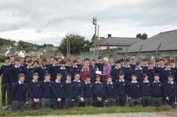 Cheque presentation by Transition Years