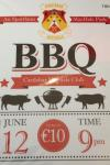 Fundraising BBQ Friday June 12th 9pm