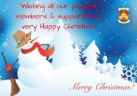 Happy Christmas 2016 from everybody at Castlebar Mitchels