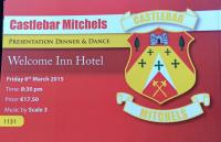 Club Dinner Dance March 6th 8.30pm