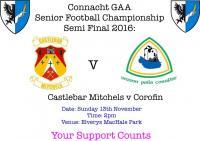 Connacht SFC Semi Final