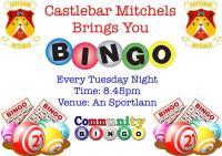 Castlebar Mitchels Bingo Every Tuesday Night