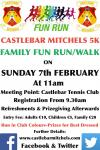 Castlebar Mitchels Fun Run/Walk on Sunday 7th February
