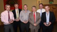 Club Dinner Dance: Presentation to 2014 County Junior Champions Management Team