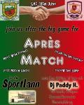 Join us for Après Match in An Sportlann