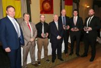 Club Dinner Dance: Presentation to 2014 All Ireland Finalists Management Team