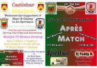 Castlebar Mitchels welcomes the supporters of Mayo and Galway
