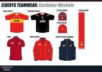 Selection of Club Gear Available in Elverys