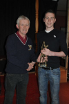 Kevin Mulhern U21 Player of the Year 2012