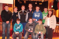 Bord na nӓg Presentation night 15th March 2013 Players of the Year for 2012