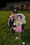 Junior Manager Whitty with NM Junior Cup