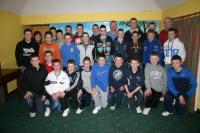 2010 U14B County Championship Winners at presentation night Feb 2011