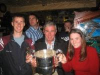 Colm, Tom & Eithne McDonnell and the 2006 Junior Cup