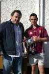 Crossmolina Captain receives Ryan Lynch Memorial Cup 29-05-2010