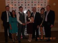 Cathal Carolan Receiving Mayo News Award