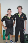 Cathal & Jimmy, Mayo Connaught Senior Champs 2013