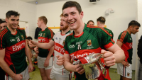 Conor Loftus celebrates All Ireland U21 success