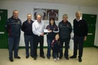 Anthony Gill, AGS presents sponsorship to Crossmolina Deel Rovers for 2010