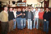 2010 Mayo Over 40s celebrate in Hineys