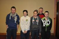 2nd Placed team in Annual Bord Na Nog table Quiz Jan 2012