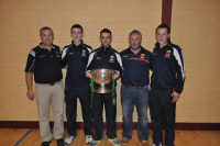 Tommy J with All Ireland winners