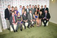 Ian Rowland with family and friends at the 2010 Mayo News - ONeills Club Stars awards night
