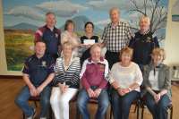 Carmel & Cathal Prior receive €15200 Lotto Jackpot