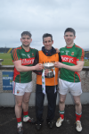 Conor, Joe & Finaun Conn U21 winners 2016