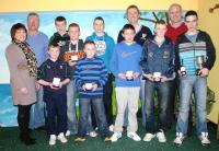 2010 Bord Na Nog Players of the year at Presentation night Feb 2011