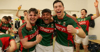 Fionan Duffy celebrates All Ireland U21 success