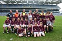 Deel Rovers U12s and Coaches in Croke Park April 2010