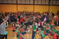 Some of the large crowd that welcomed All Ireland Minor Winners
