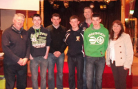 Bord na nӓg Presentation night 15th March 2013 Quiz 2nd place