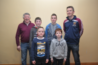 Bord na nÓg Quiz 3rd place Feb 2015